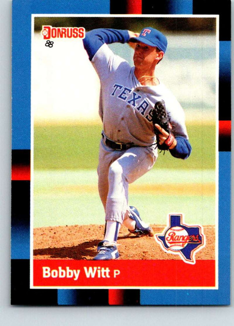 1988 Donruss #101 Bobby Witt NM-MT Texas Rangers