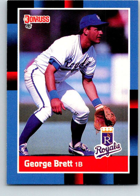 1988 Donruss #102 George Brett NM-MT Kansas City Royals