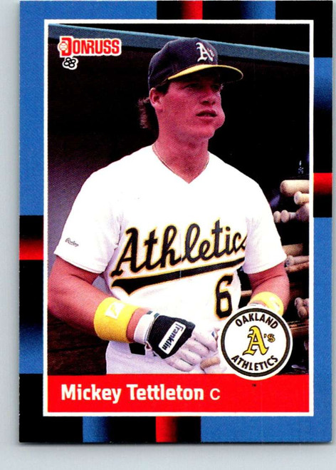1988 Donruss #103 Mickey Tettleton NM-MT Oakland Athletics