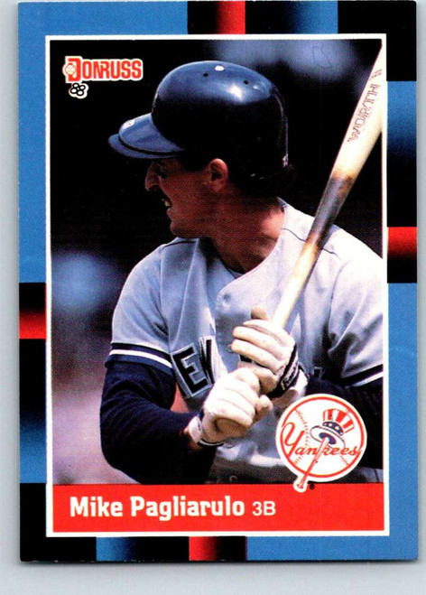 1988 Donruss #105 Mike Pagliarulo NM-MT New York Yankees