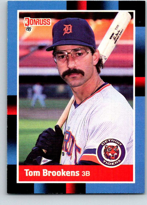 1988 Donruss #107 Tom Brookens NM-MT Detroit Tigers