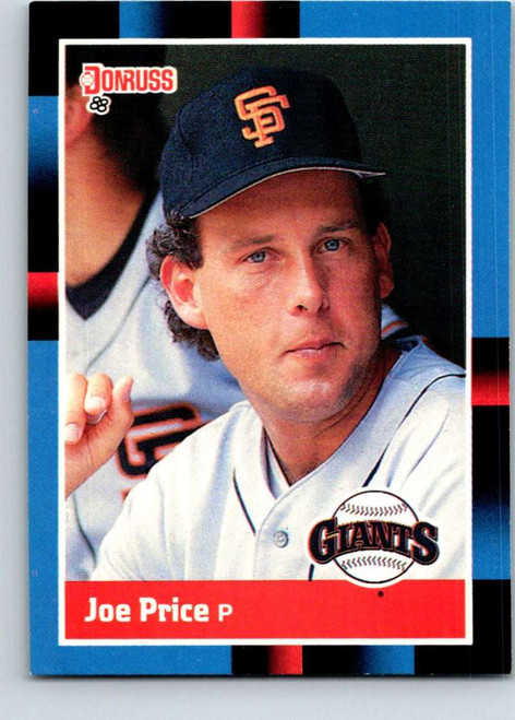1988 Donruss #655 Joe Price NM-MT SP San Francisco Giants