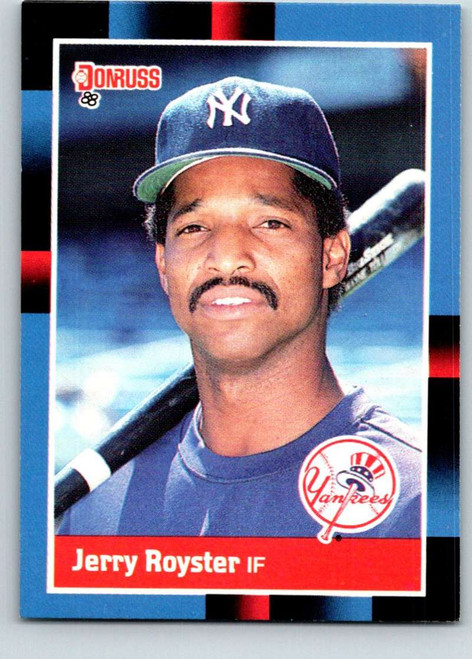 1988 Donruss #660 Jerry Royster NM-MT SP New York Yankees