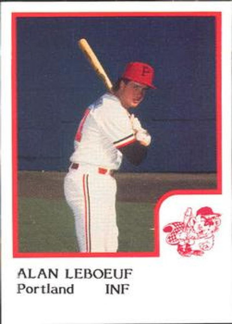 1986 Pro Set #13 Alan LeBoeuf NM-MT Portland Beavers
