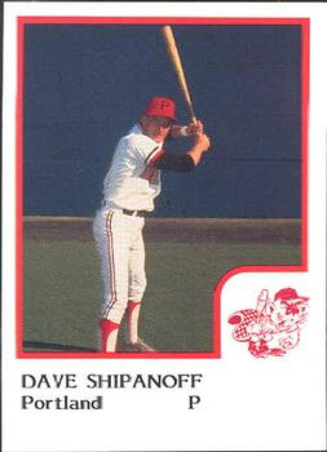 1986 Pro Set #20 Dave Shipanoff NM-MT Portland Beavers