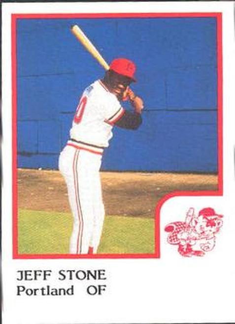 1986 Pro Set #21 Jeff Stone NM-MT Portland Beavers