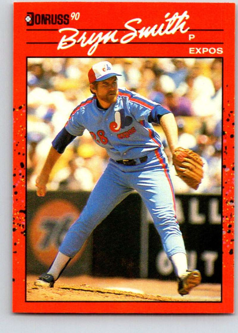 1990 Donruss #106 Bryn Smith NM-MT Montreal Expos