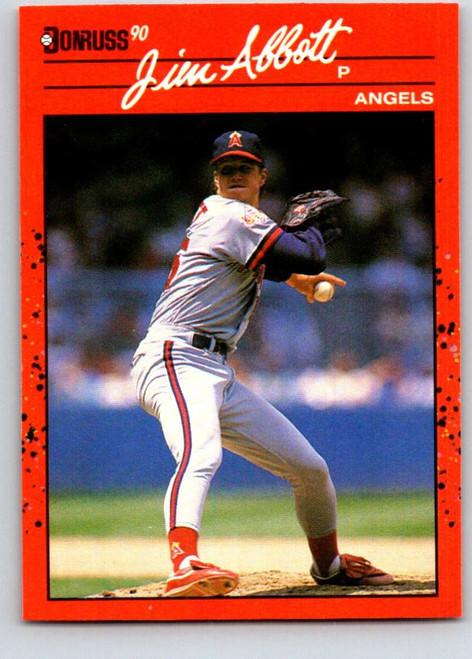1990 Donruss #108 Jim Abbott NM-MT California Angels