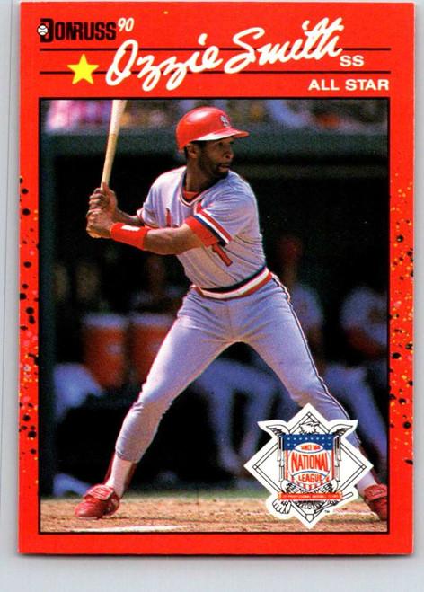 1990 Donruss #710a Ozzie Smith AS NM-MT St. Louis Cardinals