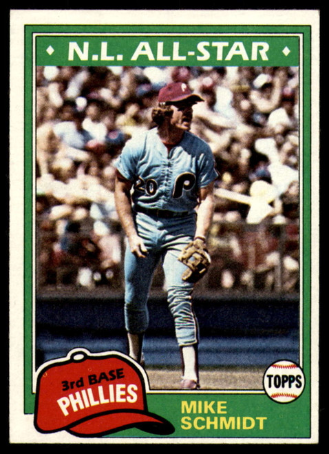 1981 Topps #540 Mike Schmidt DP VG Philadelphia Phillies
