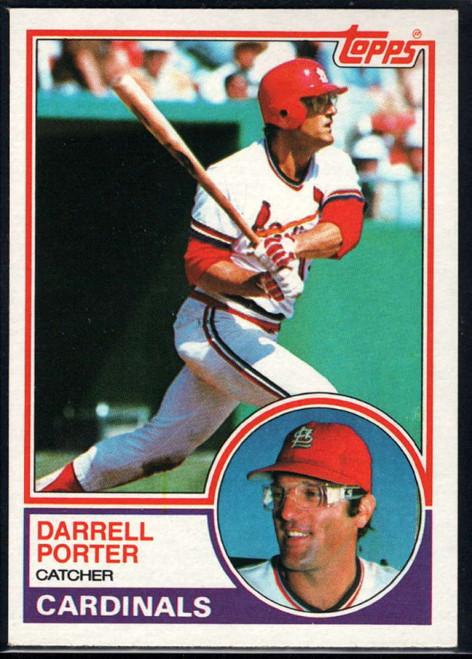 1983 Topps #103 Darrell Porter VG St. Louis Cardinals