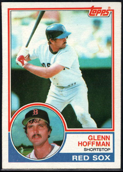 1983 Topps #108 Glenn Hoffman VG Boston Red Sox