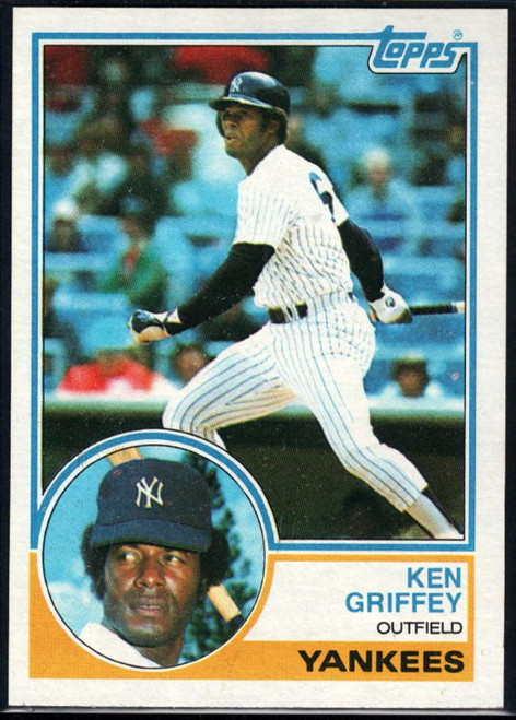1983 Topps #110 Ken Griffey Sr. VG New York Yankees