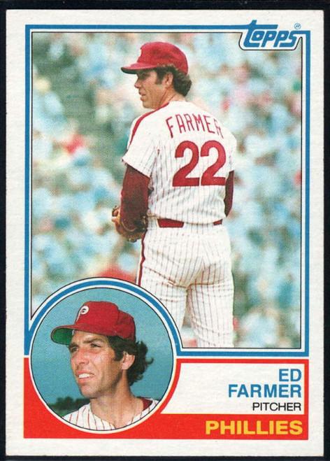1983 Topps #459 Ed Farmer VG Philadelphia Phillies