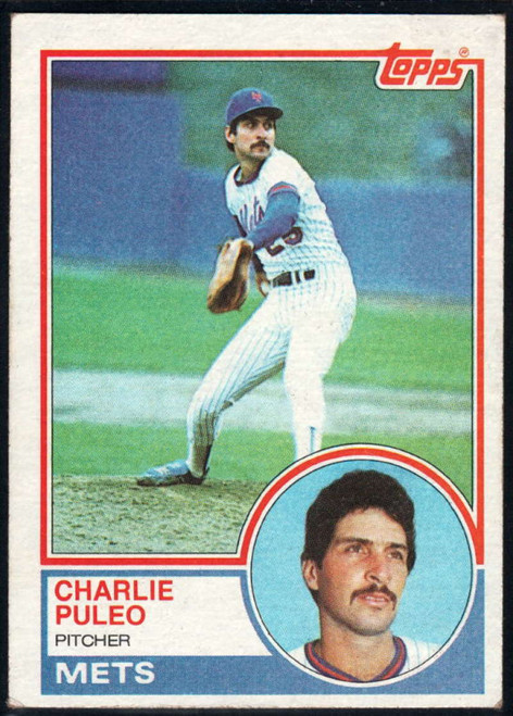 1983 Topps #549 Charlie Puleo VG New York Mets