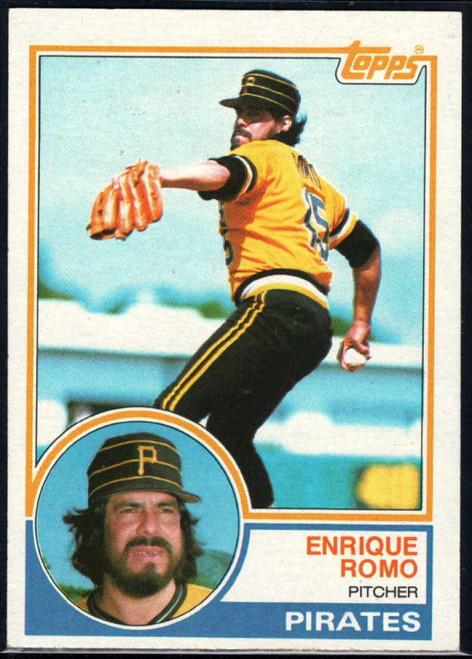 1983 Topps #226 Enrique Romo VG Pittsburgh Pirates