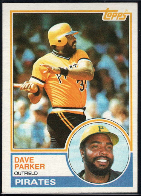 SOLD 16144 1983 Topps #205 Dave Parker VG Pittsburgh Pirates