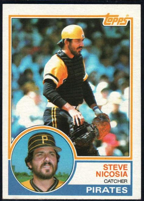 1983 Topps #462 Steve Nicosia VG Pittsburgh Pirates