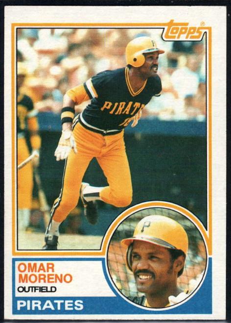 1983 Topps #485 Omar Moreno VG Pittsburgh Pirates