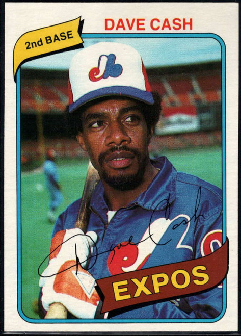 1980 Topps #14 Dave Cash VG Montreal Expos