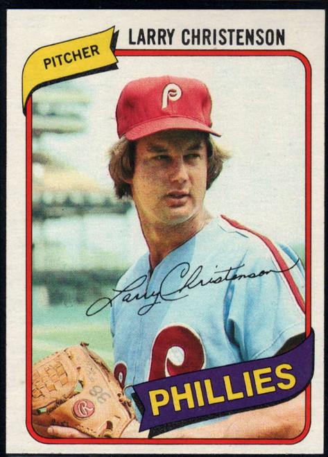 1980 Topps #161 Larry Christenson VG Philadelphia Phillies