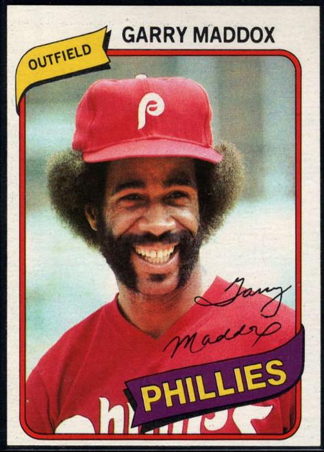 1980 Topps #380 Garry Maddox VG Philadelphia Phillies