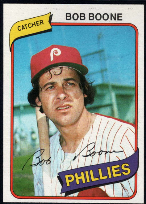 1980 Topps #470 Bob Boone VG Philadelphia Phillies