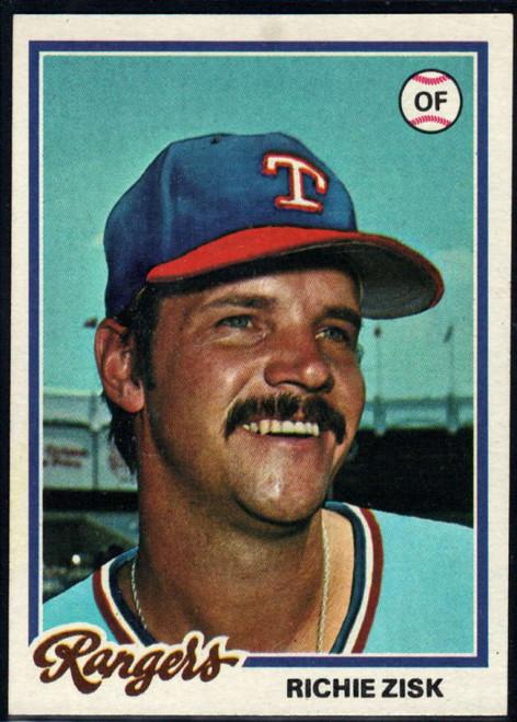1978 Topps #110 Richie Zisk COND Texas Rangers