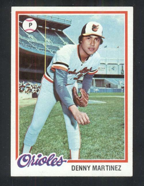 1978 Topps #119 Dennis Martinez COND Baltimore Orioles