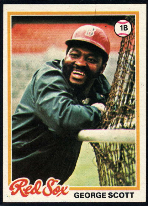 1978 Topps #125 George Scott COND Boston Red Sox