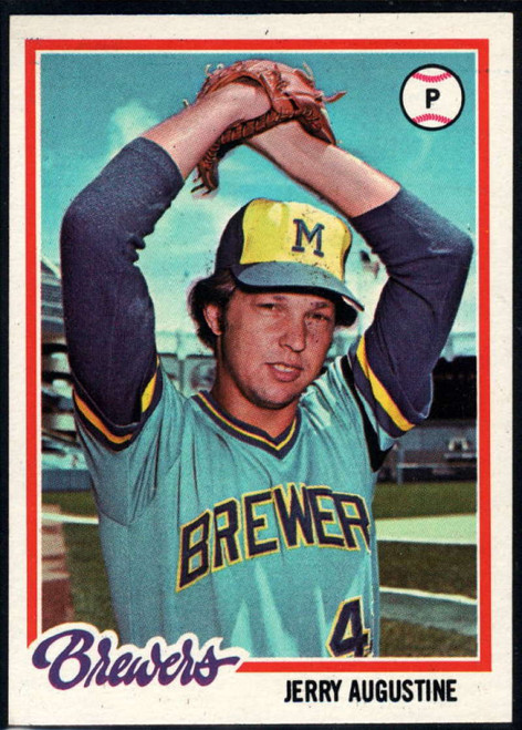 1978 Topps #133 Jerry Augustine COND Milwaukee Brewers