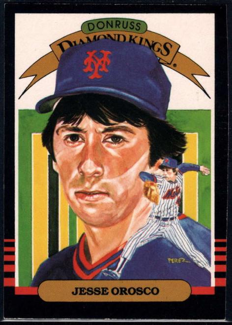 SOLD 22975 1985 Donruss #22 Jesse Orosco DK VG New York Mets