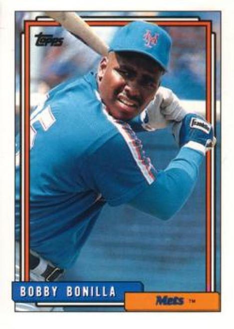 1992 Topps Traded #14T Bobby Bonilla VG New York Mets
