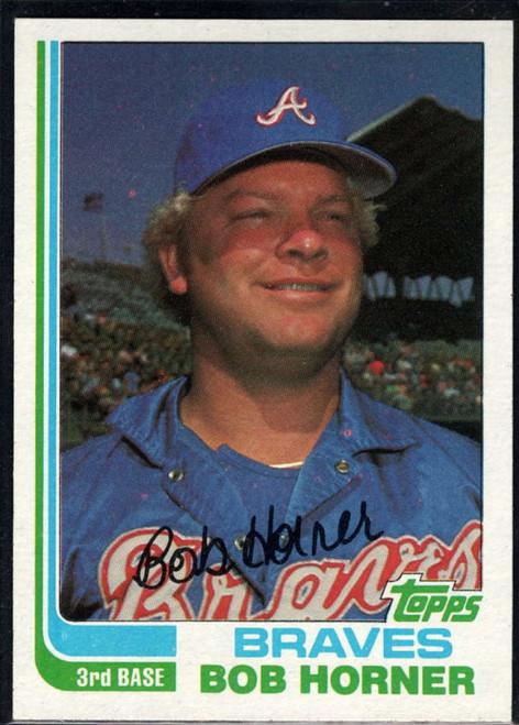 1982 Topps #145 Bob Horner VG Atlanta Braves