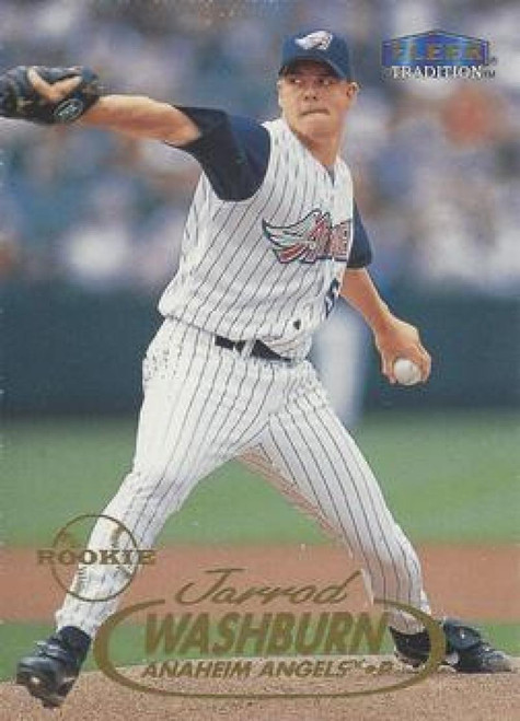 1998 Fleer Update #U79 Jarrod Washburn VG Anaheim Angels