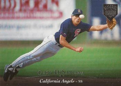 1995 Upper Deck Electric Diamond #19 Gary DiSarcina VG California Angels