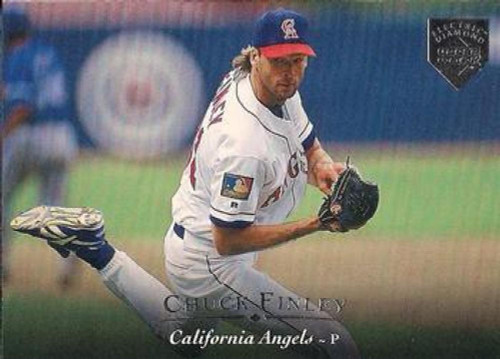 1995 Upper Deck Electric Diamond #21 Chuck Finley VG California Angels