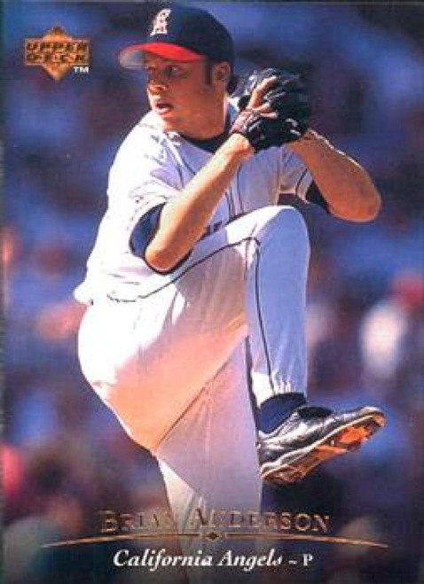 1995 Upper Deck #18 Brian Anderson VG California Angels