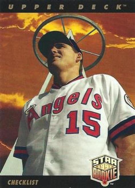 1993 Upper Deck #1 Tim Salmon CL VG California Angels