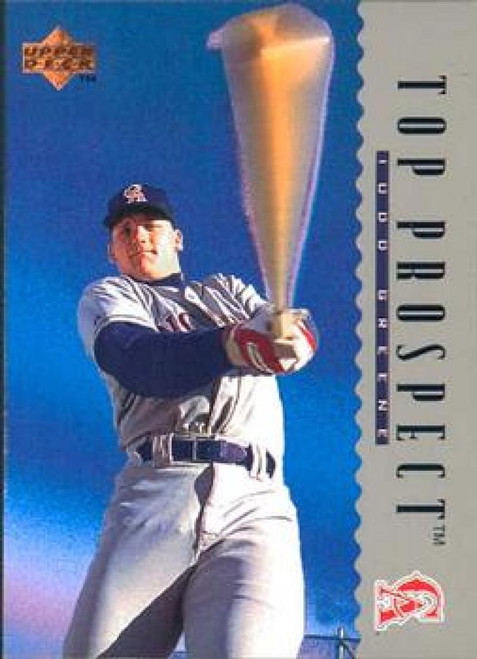 1995 Upper Deck #6 Todd Greene VG California Angels