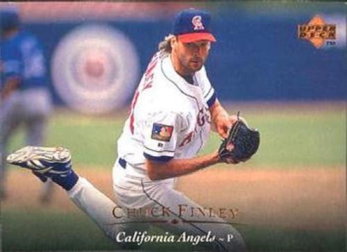 1995 Upper Deck #21 Chuck Finley VG California Angels