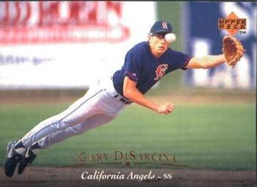 1995 Upper Deck #19 Gary DiSarcina VG California Angels