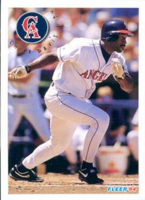 1994 Fleer #51 Chili Davis VG California Angels