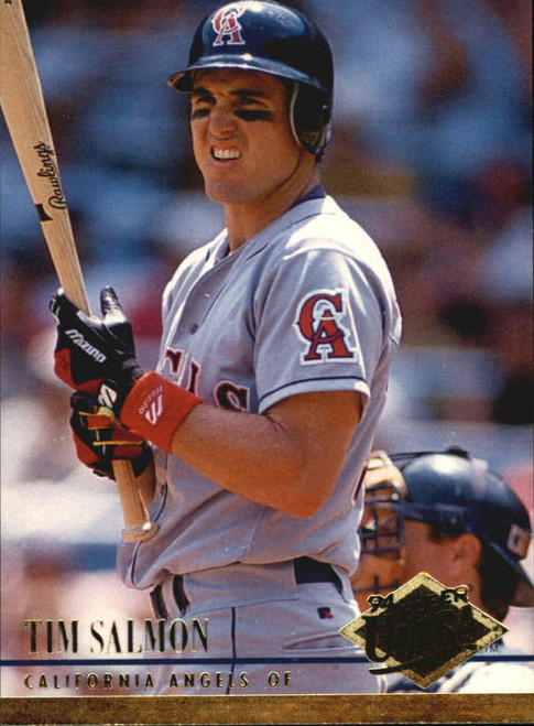 1994 Ultra #27 Tim Salmon VG California Angels
