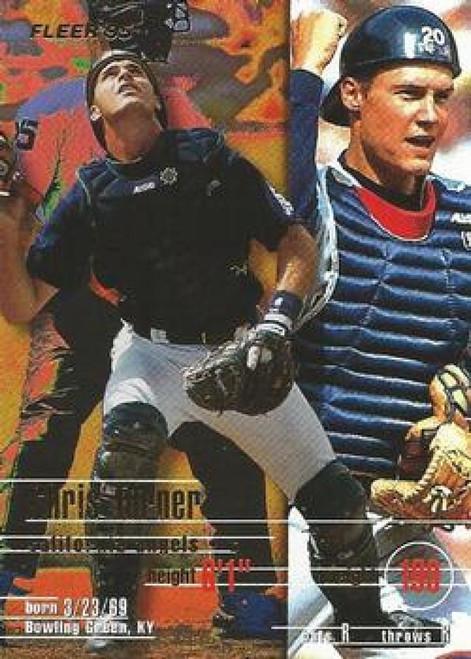 1995 Fleer #237 Chris Turner VG California Angels