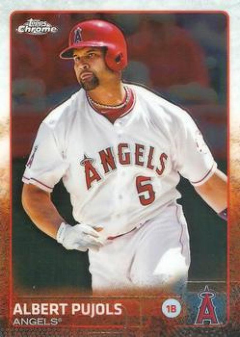 2015 Topps Chrome #113 Albert Pujols VG Los Angeles Angels