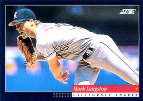 1994 Score #71 Mark Langston VG California Angels