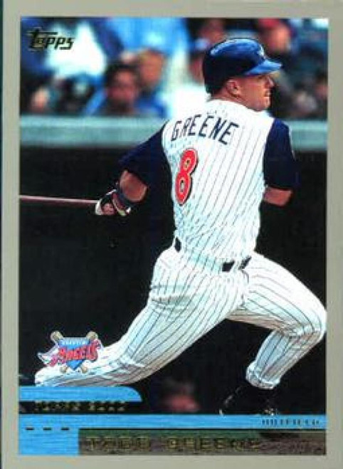 2000 Topps #9 Todd Greene VG Anaheim Angels
