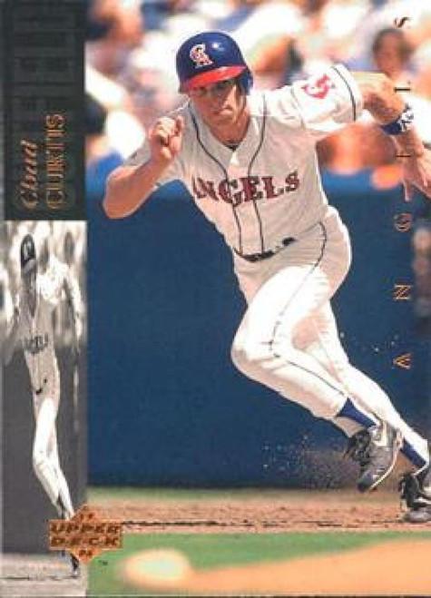 1994 Upper Deck #82 Chad Curtis VG California Angels