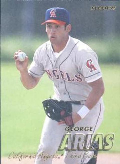 1997 Fleer #35 George Arias VG Anaheim Angels